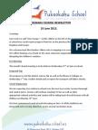Pukeokahu School Newsletter 17 June