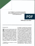 Ayora Steffan El Cuerpo y La Naturalizacion de La Diferenca en La Sociedad Contemporanea