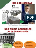LAS CRISIS ECONÓMICAS Y LA BOLSA DE VALORES