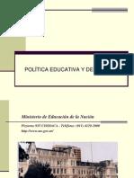 Unidad 2 Política Educ y Deportiva.ppt