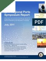 2011regionalportssymreportfinal Full 111025223642 Phpapp01