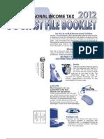 2012 Pa-40 Fastfile Book