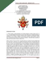 CARTA ENCÍCLICA DEUS CARITAS EST - Benedicto XVI