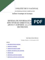 SISTEMA DE INFORMACIÓN DE LA EFECTIVIDAD GERENCIAL PARA EL A