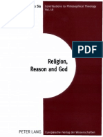 Santiago Sia-Religion, Reason and God_ Essays in the Philosophies of Charles Hartshorne and a. N. Whitehead -Peter Lang (2004)