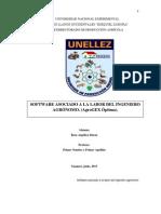 Software asociado a la labor del Ingeniero agrónomo