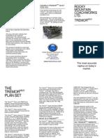Tremormuv Brochure