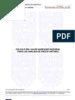 Teoria Calculo Valor Agregado Nacional Para Apu