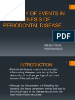 Pathogenesis of Periodontal Disease 1