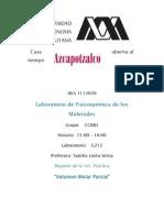 Practica 1 Volumen Molar Parcial Lab. FisiQuim