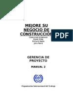 Manual Mejoramiento de Una Constructora