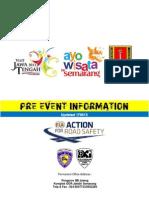 Updated 170613 - Pre Event Information KEJURNAS TIME RALLY 2013 (Jateng, 29-30 Juni)