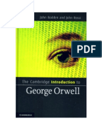 Cambridge Introduction to George Orwell (John Rodden and John Rossi, eds.)