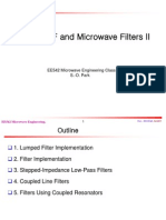 Design of RF and Microwave Filters II