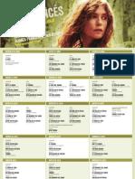 Programación 3ra Semana de Cine Francés, en Lima