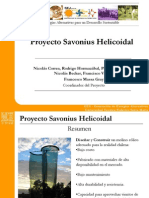 Savonius Helicoidal