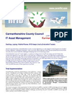 003 Carmarthenshire County Council RFID Case Study 200109