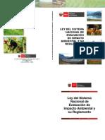 1.1 y 1.2 Ley del sistema nacional de evaluación de impacto ambiental y su reglamento