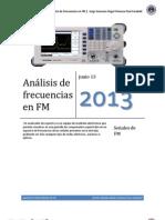 Analisis de frecuencias fm