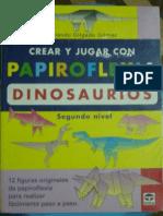 Crear y Jugar Con Papiroflexia Dinosaurios