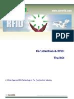 013 Construction & RFID - the ROI