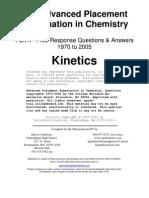 Kinetics Answers