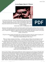 Notes on James Joyce's 'Ulysses'
