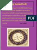 Sabse Behtar Tareeqa Muhammad