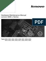 Hardwae Maintenance Lenovo 3000j Series