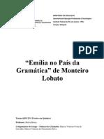 Monteiro Lobato Pré modernismo!