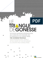 Plaquette Triangle Gonesse Fevrier 2013