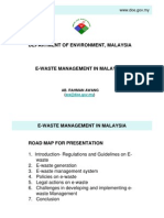 E-Waste Management in Malaysia
