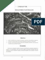 Unidad 8 - Los Desastres Naturales