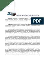 Breve Historia Del Montaje1