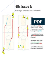 Dribble shoot and go