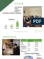Diamond Finance Investor Presentation DRAFT - NOT FINAL