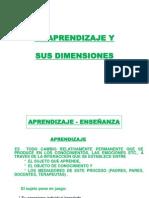 El Aprendizaje y Sus Dimensiones Eje 2[1]