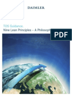 Nine Lean Principles – A Philosophy