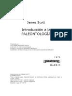 SCOTT JAMES - Introduccion a La Paleontologia