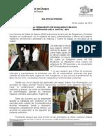 02/10/12 Germán Tenorio Vasconcelos CAMPAÑA PERMANENTE DE SANEAMIENTO EN MERCADOS DE LA CAPITAL