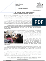 25/10/12 Germán Tenorio Vasconcelos AFUERA DEL HOSPITAL LA VIDA ES MUY DIVERTIDA, LUCERO, GUERRERA CONTRA EL CÁ_0