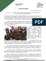 26/11/12 Germán Tenorio Vasconcelos arranca Voluntariado de Los Sso, Entrega de 15 Mil 500 Ponchos en 138 Municipios _0