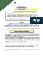 Prova de Redação UNICAMP 2000