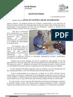 21/12/12 Germán Tenorio Vasconcelos Beneficia Hospital de Tuxtepec a 285 Mil 220 Habitantes