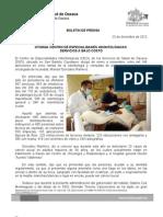 23/12/12 Germán Tenorio Vasconcelos Otorga Centro de Especialidades Odontológicas servicios a bajo costo