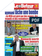 LE BUTEUR PDF du 26/04/2009