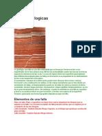 Fallas Geologicas ESTA está BUENAZO, es bien básico y con fotos y ejemplos de fallas importantes en el mundo