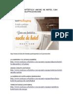 Hoteles Promo Rusticae+SelfPackaging