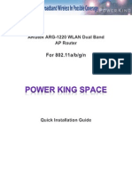 ARGtek ARG-1220 QIG