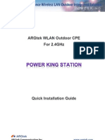 ARGtek POWER KING STATION QIG